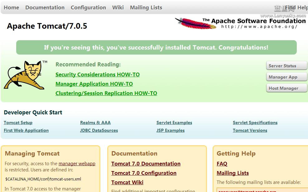 linux服务器 tomcat